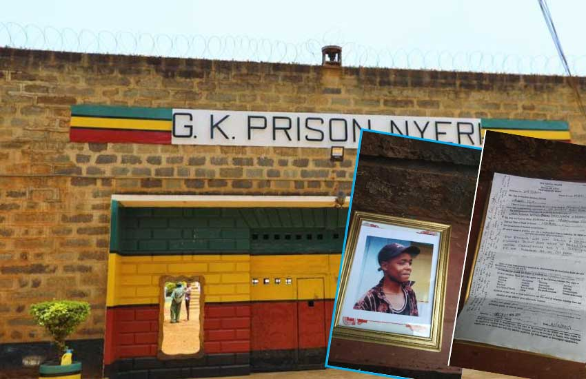 How stolen moments of intimacy at Nyeri prison ended in death