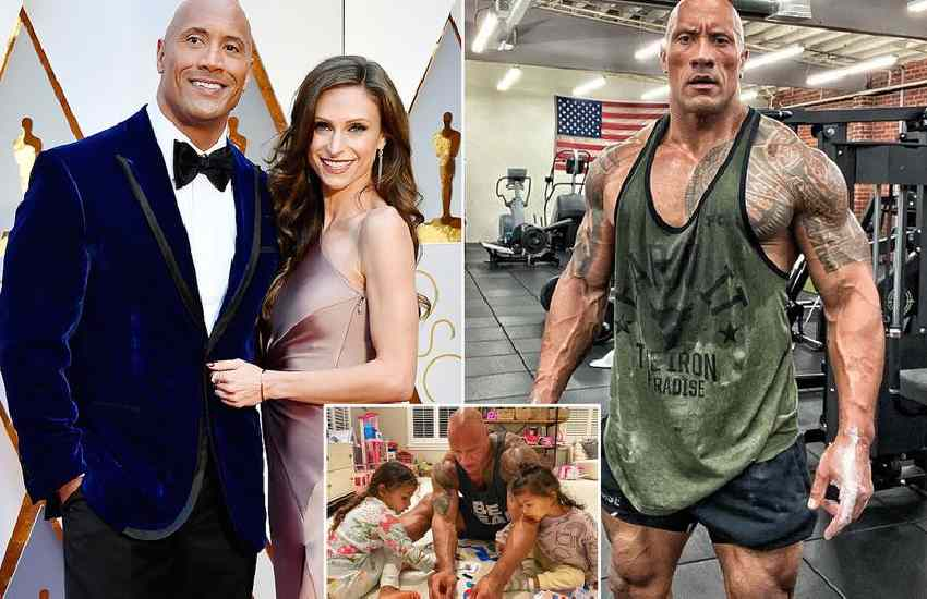 How 'The Rock' went from failed football player to world's richest actor