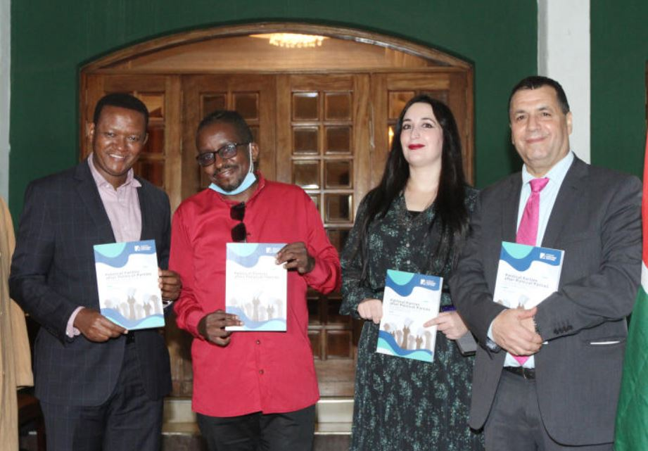 Tony Mochama's book: Political revolution calls for party after party