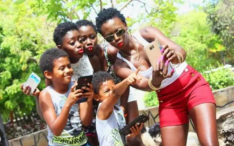 Akothee wishes the fathers of her children a Happy Father's Day