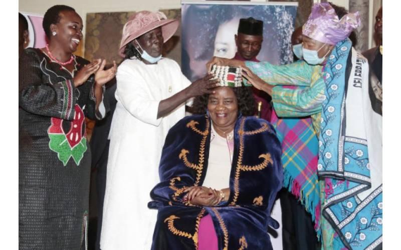 Ida Odinga awarded for selfless service to community