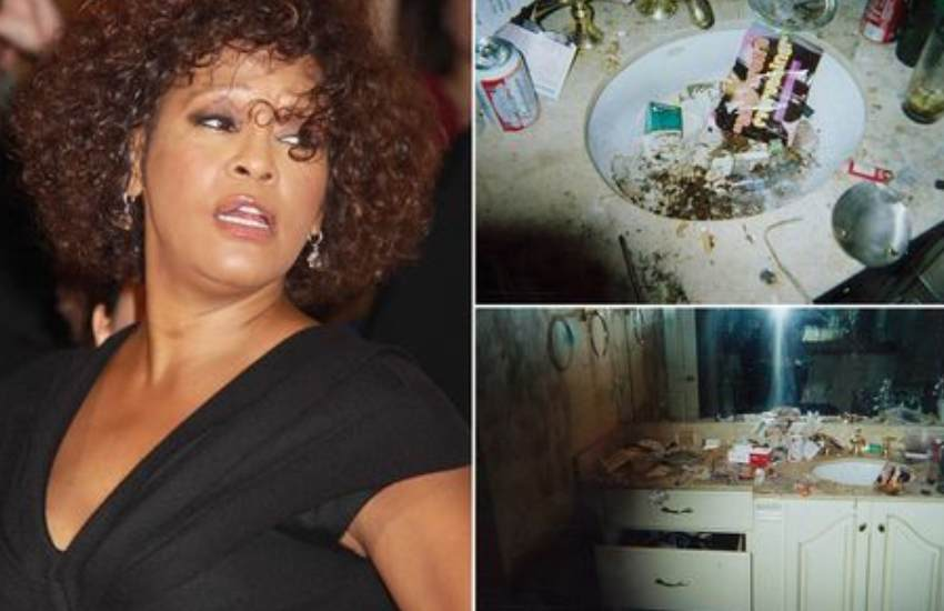 Inside tragic Whitney Houston's crack binges - mysterious injuries and falling out teeth
