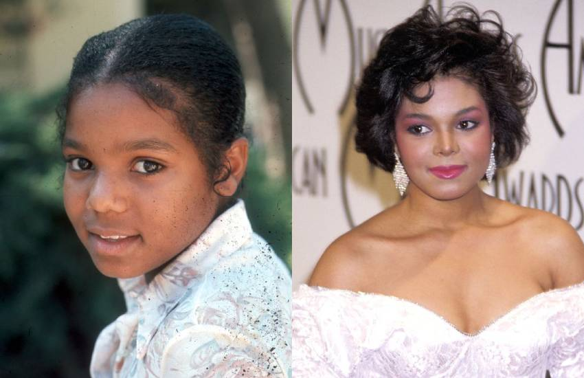 Janet Jackson's changing face after years of denying plastic surgery rumours