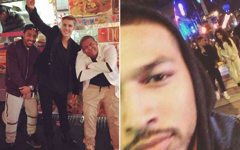 Justin Bieber claims photo of him with friends 'proves he did not rape a fan'