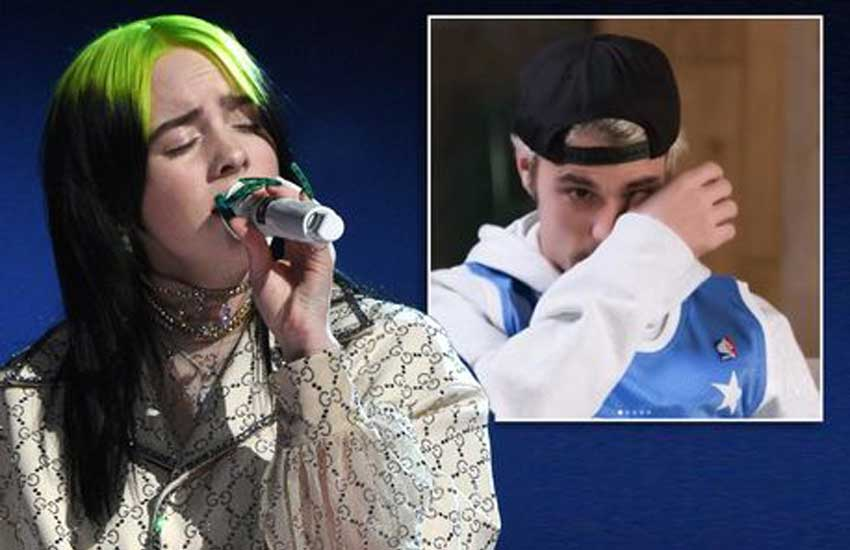 Justin Bieber tearfully offers to protect Billie Eilish from dark side of fame