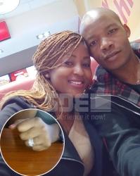 """She said YES!"" KTN Sports Editor Hassan Jumaa proposes to long-term girlfriend Eve Buya"