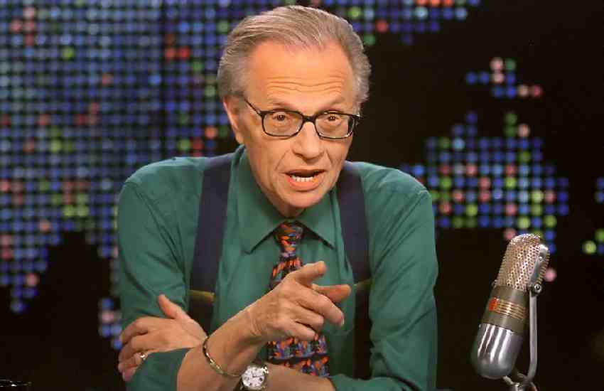 Talk show veteran Larry King in hospital with Covid-19