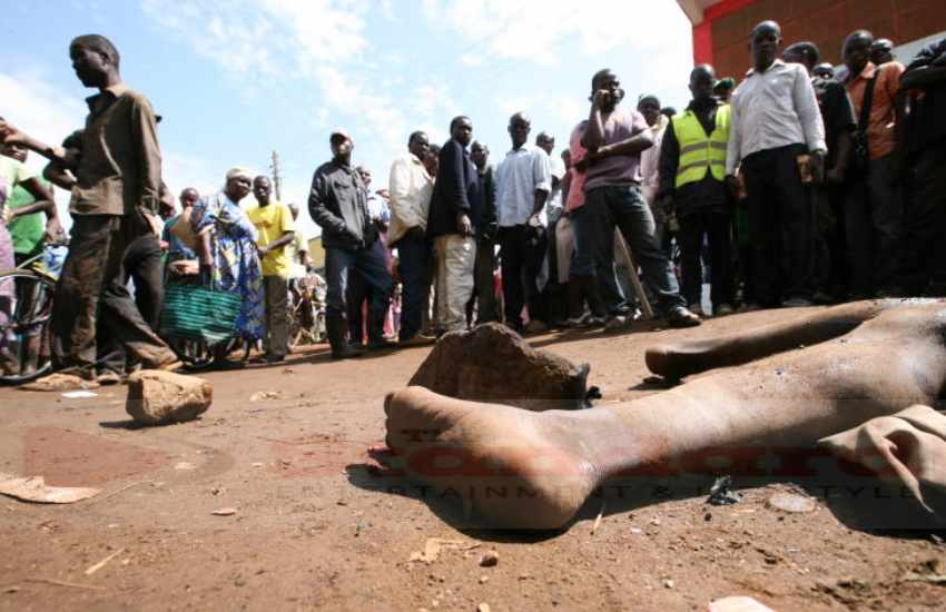 Man abducted from hospital bed by mob in Kirinyaga and lynched