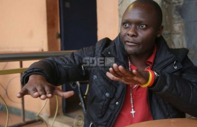 Meet Profesa Eshuya,  the comedian who stole his mum's goat for fare to Nairobi