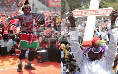Nasa vs Jubilee: Frantic last day as bruising election campaigns end