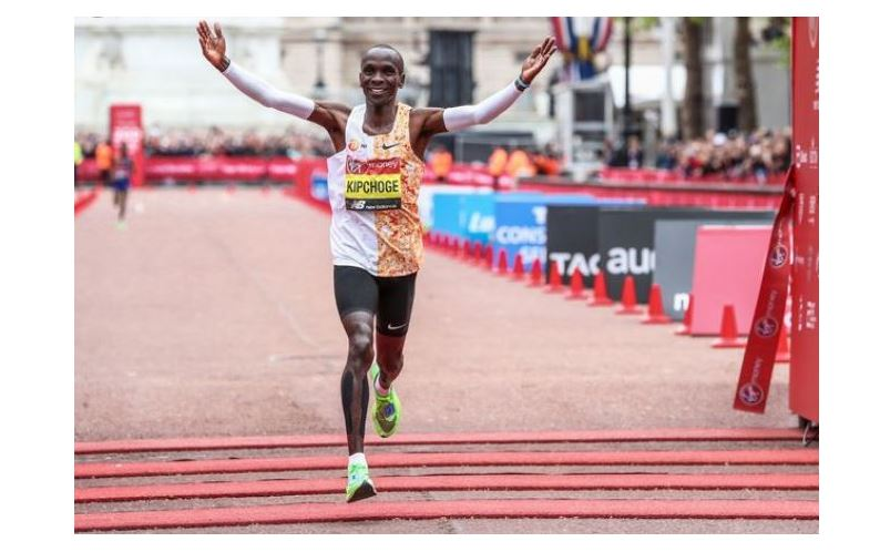 Netizens react after Eliud Kipchoge was referred to as fitness influencer