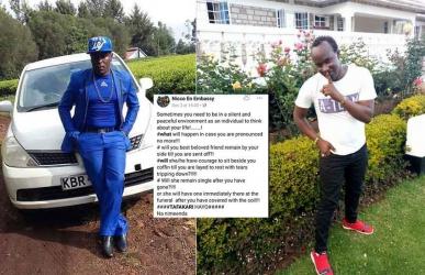 Nimeenda: Had popular Kalenjin artist predicted his death before perishing with six others?