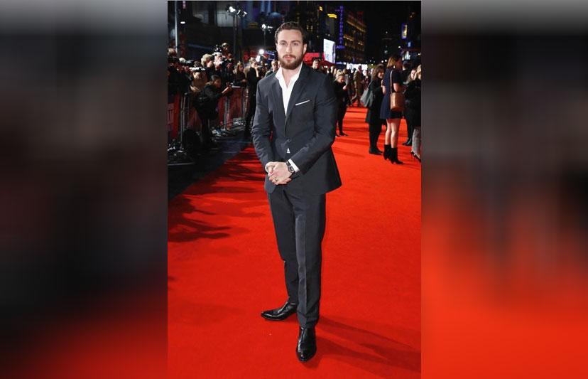 Aaron Taylor Johnson, London Film Festival 2018