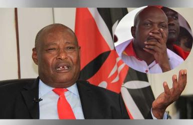 #PartisanNCIC: Agitated Kenyans take on Ole Kaparo for ignoring Moses Kuria's ethnical incitements