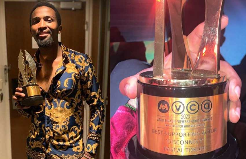 Jubilation as Pascal Tokodi is crowned best supporting actor in Africa