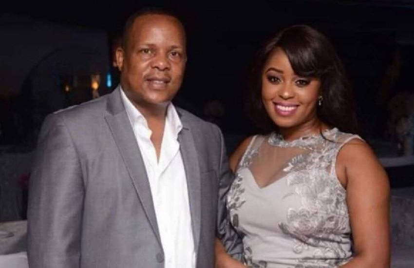 PHOTO: Lilian Muli, Jared Nevaton celebrate son's birthday