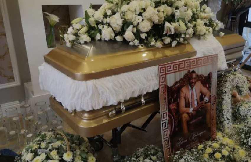 PHOTOS: Ginimbi buried in custom Versace coffin