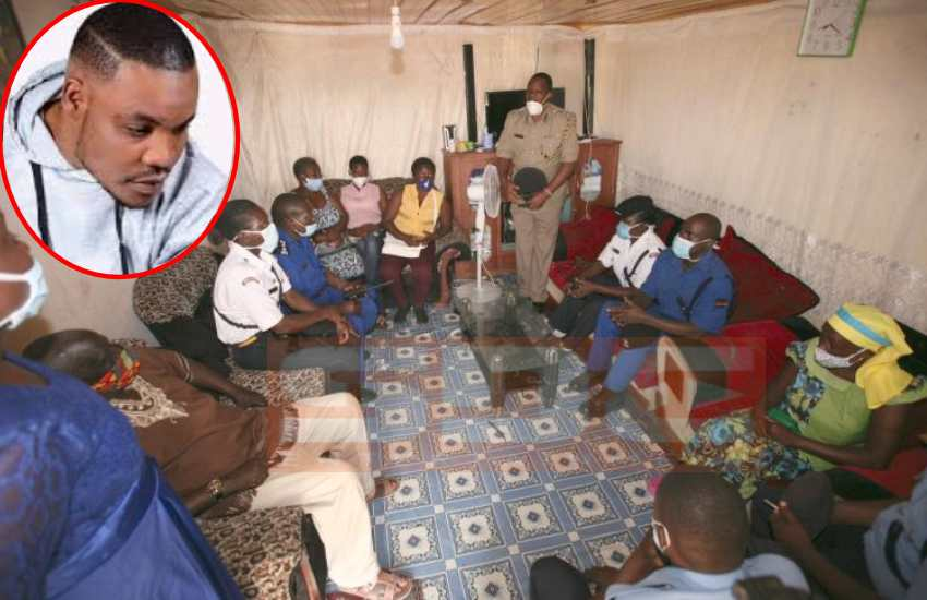 Police visit Abenny Jachiga's family bearing gifts, apologize over burial saga