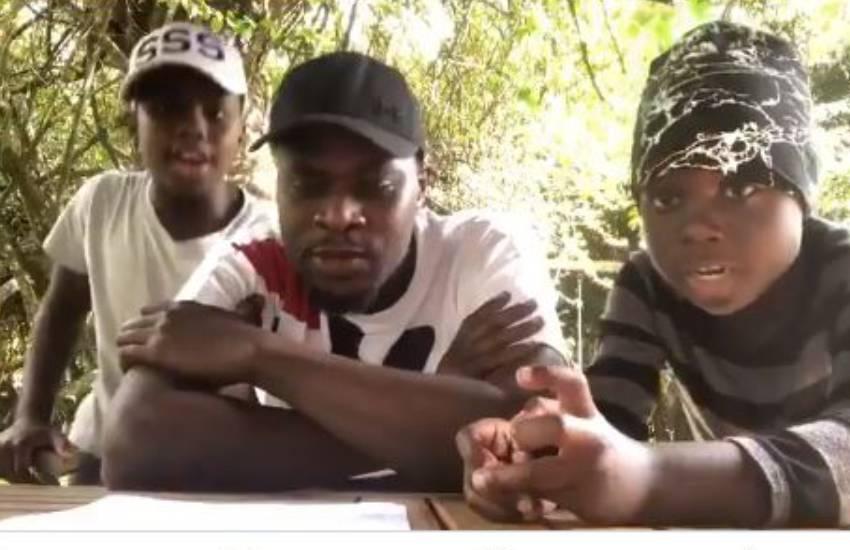 Covid-19 awareness: Kenyans react to Sakaja, sons' impressive rap skills