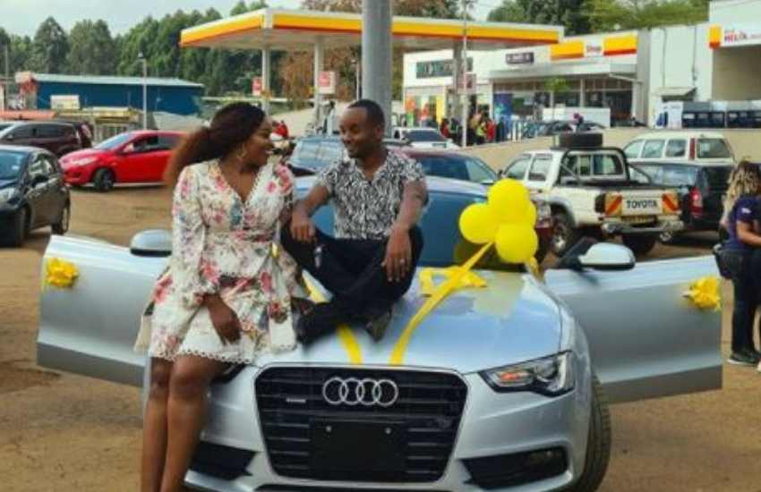 Sarah Kabu lectures critics, says WaJesus Family can afford an Audi A5