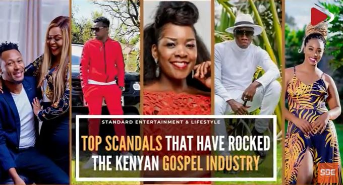 Top scandals that have rocked the Kenyan gospel industry