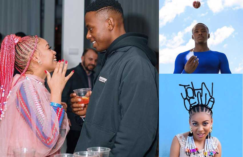 Madjozi shares details of her relationship with top cricket star