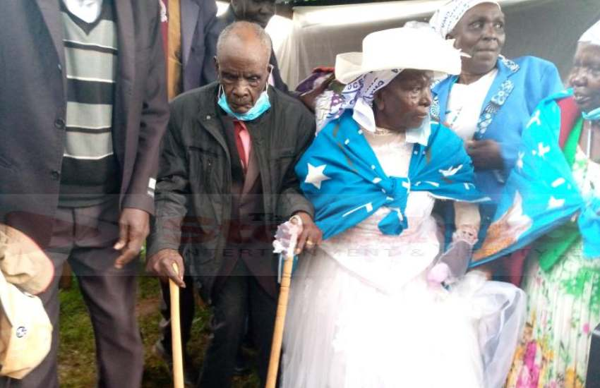 The arithmetic of love: Couple renews vows after 70 years of marriage