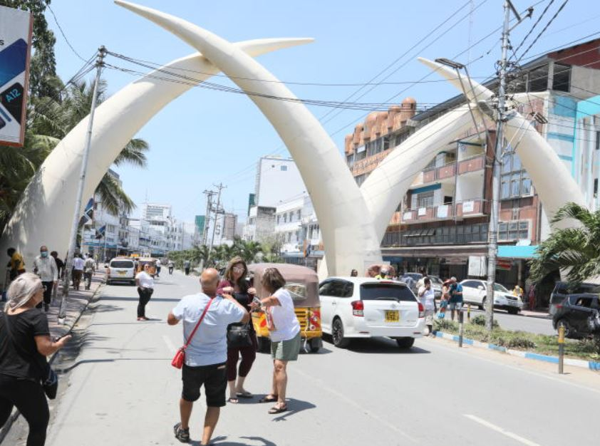 The story behind the tusks of Mombasa