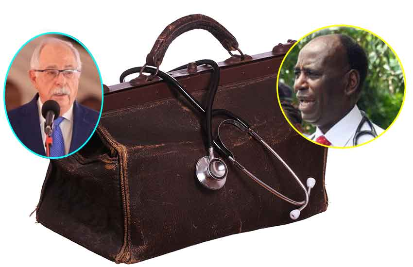The untold story of physicians who keep presidents healthy and fit