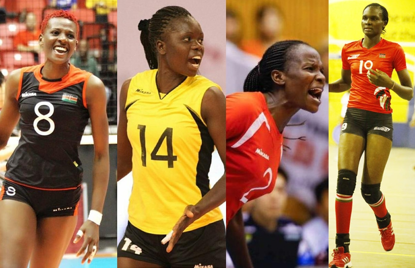 Are Kenyan men scared of these hot volleyball princesses?