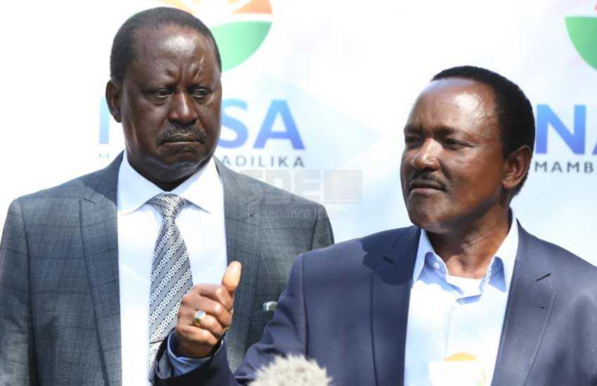 Betrayal? Wiper meets to plan next move after Raila's 'swearing in'