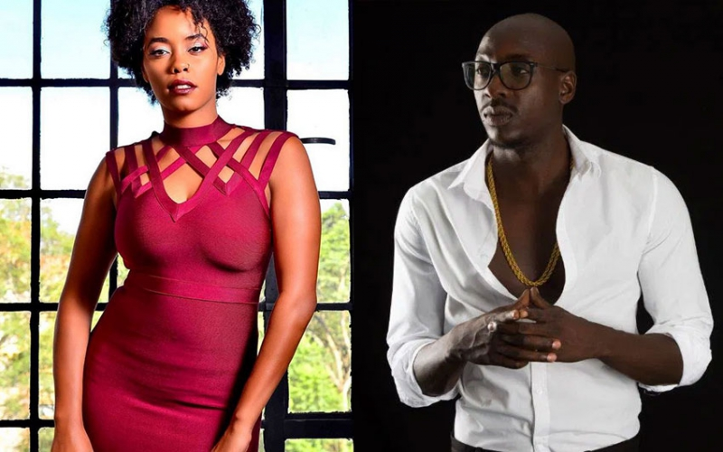 Chiki Kuruka sends message to fans who throw bras at her fiancé