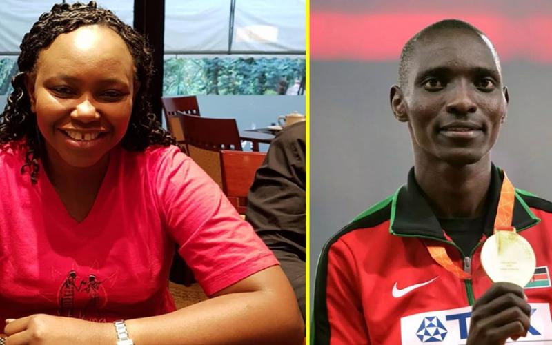 Carol Radull's message as Kenyans rush to Asbel Kiprop's corner