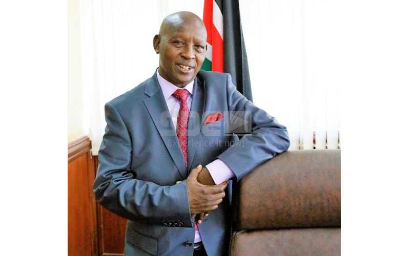 Don't mistake a rained on lion for a cat - Nyeri Governor