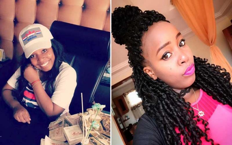 Governor Sonko's daughter flaunts wads of cash, Kenyans react
