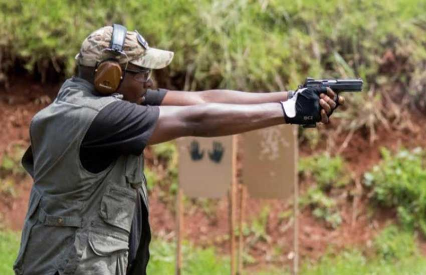 Gun owners in Kenya have to practice shooting - NGAO chairman