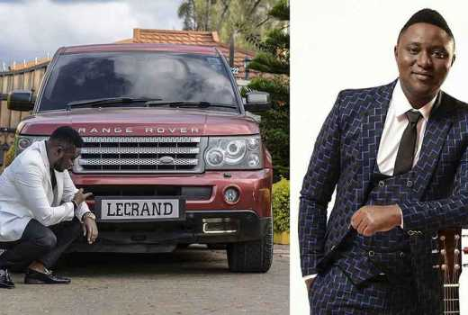 Has gospel singer Pitson poured millions into a new maroon Range Rover?