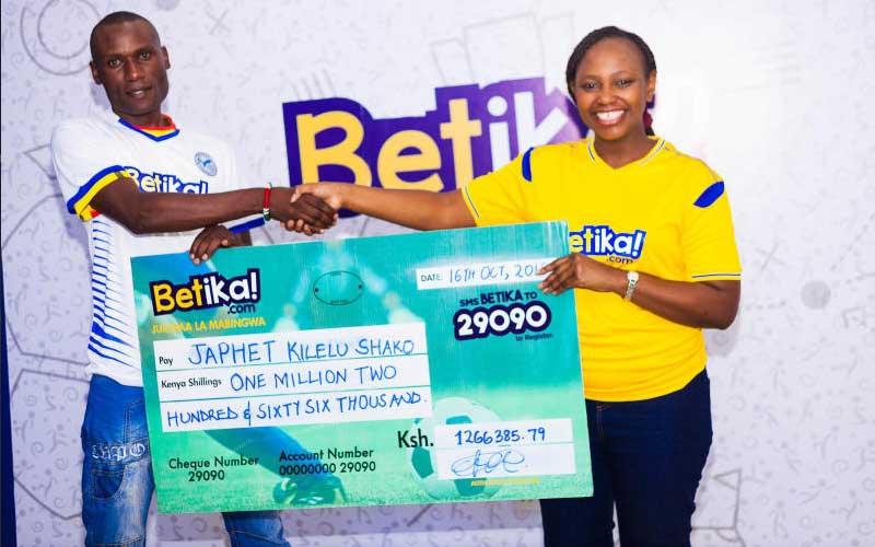 How Sh100 bet earned man a million shillings on Betika