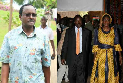 I didn't tell anybody I was coming: How Kalonzo jetted in quietly after long stay in Germany