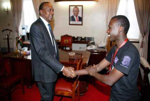 I used to smoke weed, says Uhuru's son