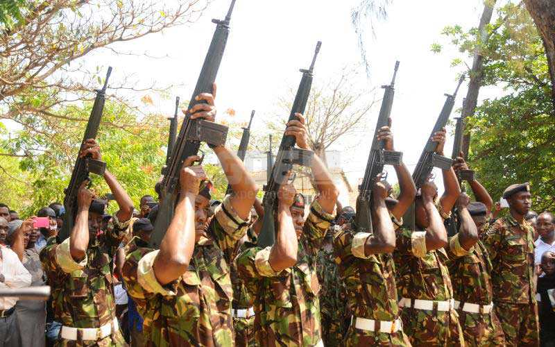 KDF should get the hell out of Somalia