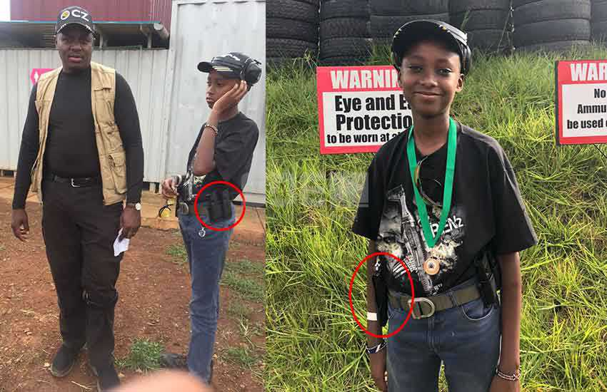 Meet the 14-year-old boy who wowed at the NGAO shooting competition