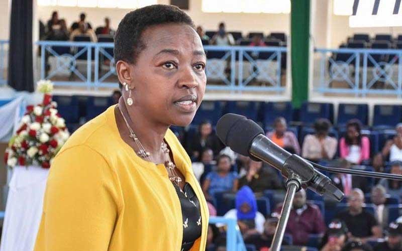 Never give sponsors lungula - Rachel Ruto warns varsity girls