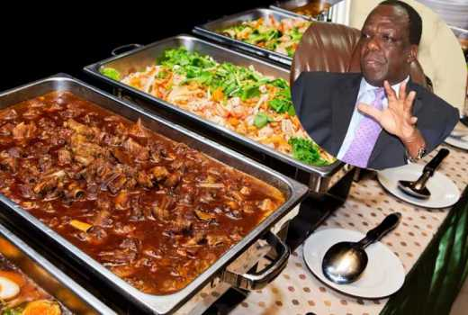Last supper? Oparanya treats outgoing ministers to a buffet