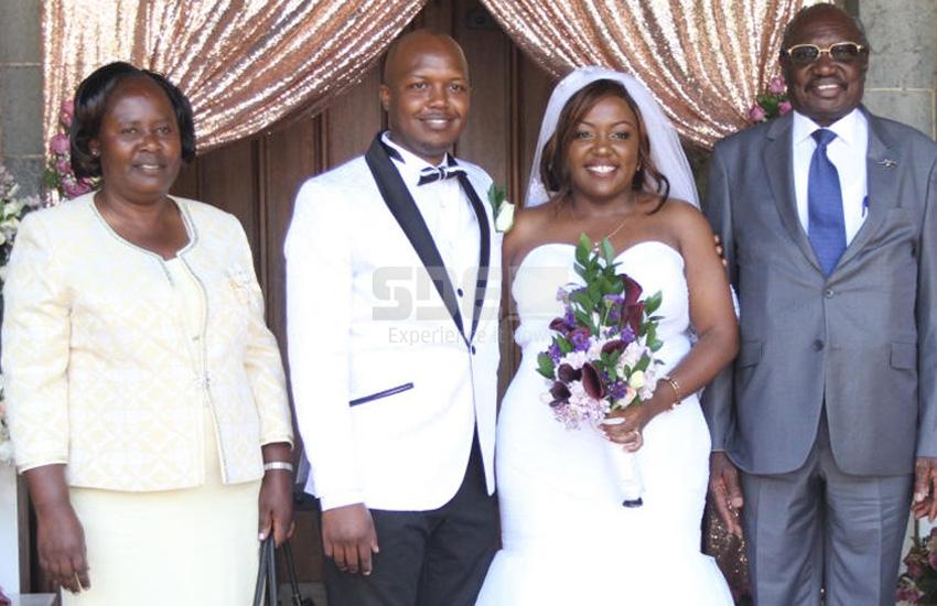 PHOTOS: Professor Arthur Obel's daughter weds