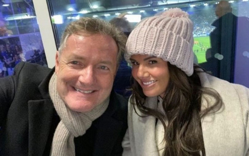 Piers Morgan causes a stir, poses with Rebekah Vardy amid Coleen Rooney row