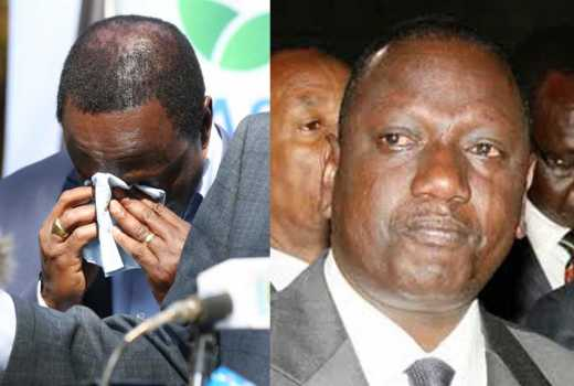 Politics and tears: From Ruto to Kalonzo, why politicians weep