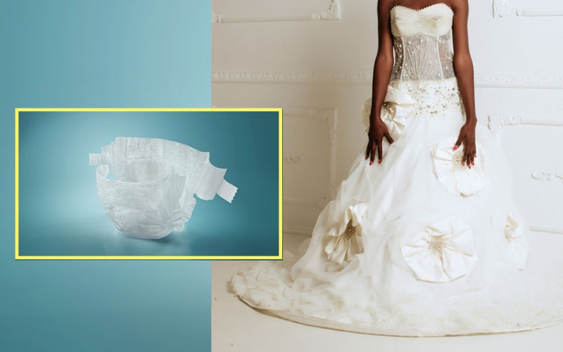 Price of perfection? Brides now wearing wedding diapers