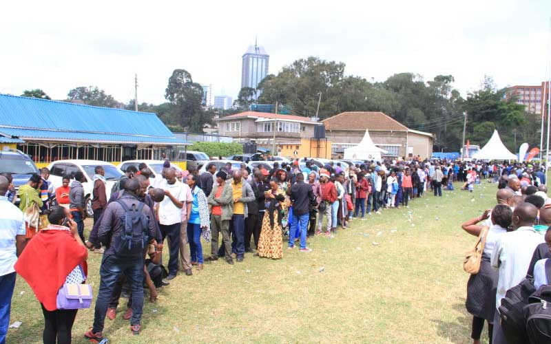 Queue place holders: Seven weird jobs Kenyans do to put food on the table