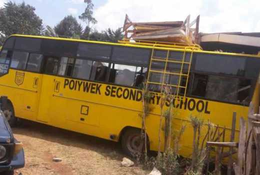 School in shock after bus runs over Form one student